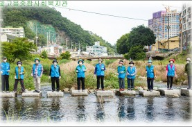 빛고을종합사회복지관 하천 정화활동게시글의 첨부 이미지